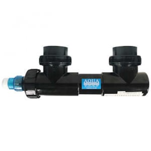 "Aqua UV Classic 8 watt Sterilizer 2"" - Black"