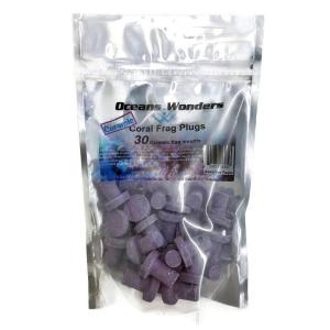 Ocean Wonders Coralline Purple Coral Frag Plugs 30 pack