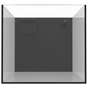 Fiji Cube 11 Gallon Rimless Nano Tank w/External Overflow