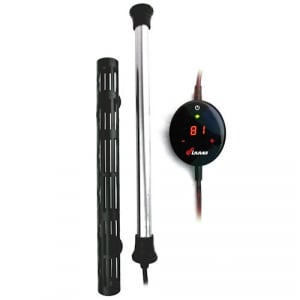 Finnex HMX 50W-500W Titanium Heaters with Touch Digital Controllers