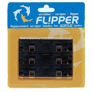 Flipper Replacement Acrylic Blades - 3 Pack, Acrylic Tanks only
