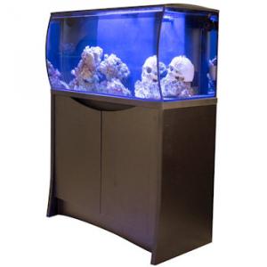 Fluval Flex 32 Gal. Marine Aquarium Kit w/Stand - Black