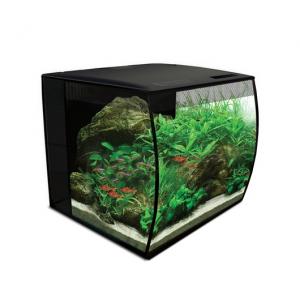 Fluval FLEX 34L Aquarium Kit - Black - 9 gallon