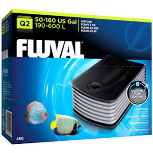 Fluval Q2 Aquarium Air Pump