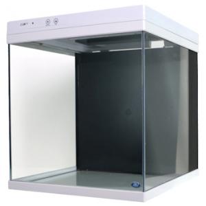 JBJ 10 gal. Cubey Aquarium - White