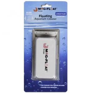 """Mag-Float 400 Large+ Glass Cleaner w/ Scraper Up to 3/4"""" Glass"""