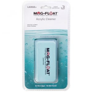 """Mag-Float 410 Large+ Acrylic Cleaner w/ Scraper Up to 3/4"""" Acrylic"""
