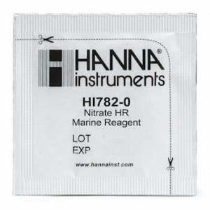 Hanna HI1782-25 Marine High Range Nitrate Reagent Refill for 25 Test