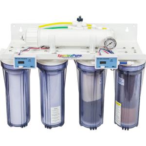 Spectra Pure MaxCap 2:1 Manual Flush 90 gpd ro/di System