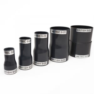 Metric to Standard Imperial PVC Adapters