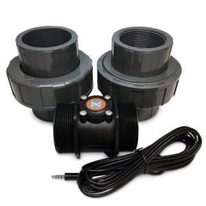 """Neptune Systems Flow Sensor - 2"""" with unions - FS200"""