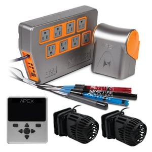 Neptune Systems Apex Controller Kit with Silver Display and Two Wav Pumps