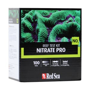 Red Sea Nitrate Pro (NO3) - High Definition comparator test kit (100 tests) - incl. professional colorimetric comparator