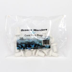 Ocean Wonders Coral Frag Plugs 25 pcs.