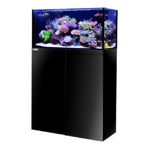 OCTO LUX 32gal Aquarium System with Black Cabinet