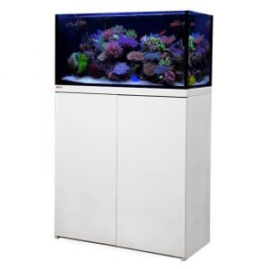 OCTO LUX 48gal Aquarium System with White Cabinet