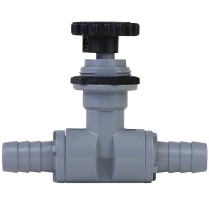 """Precision Needle Valve with 1/2"""" Barb Fittings"""