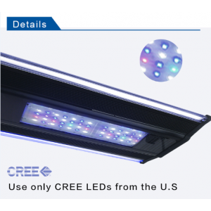 Zetlight ZT-6600II 160W LED Reef Aquarium Light