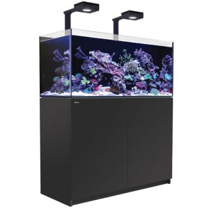Red Sea Reefer 425 XL Deluxe, 112 Gal. With 2X ReefLED 90 - Black