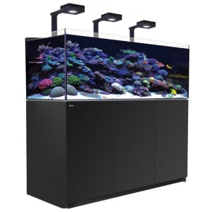 Red Sea Reefer 525 XL Deluxe, 139 Gal. With 3X ReefLED 90 - Black