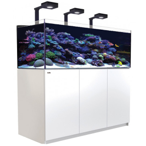 Red Sea Reefer 525 XL Deluxe, 139 Gal. With 3X ReefLED 90 - White