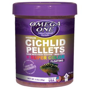 Omega One Medium Cichlid Pellets