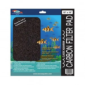 """Weco Carbon Filter Pad 10"""" x 18"""""""
