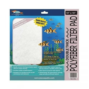 """Weco Double Thick Polyfiber Filter Pad 10"""" x 18"""""""