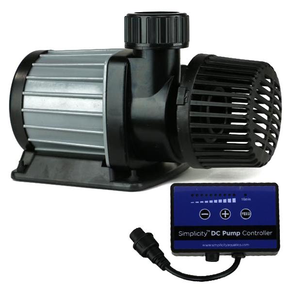 Simplicity DC-1000 Water Pump, 1,000GPH, 30W