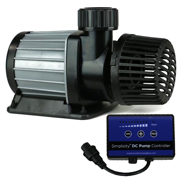Simplicity DC-1600 Water Pump, 1,600GPH, 42W