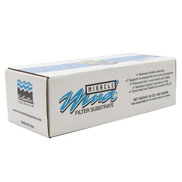 MIRACLE MUD Freshwater, 2 lbs. by EcoSystem Aquarium