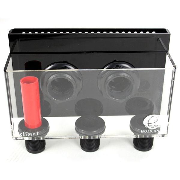 Eshopps Eclipse L Internal Overflow Box Kit, Large