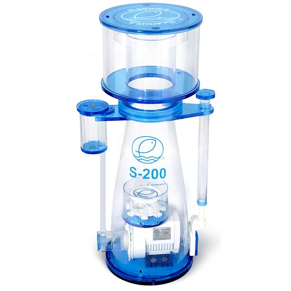 Eshopps S-200 Protein Skimmer, 4th Gen. - 120-260g tank by Eshopps Inc.]