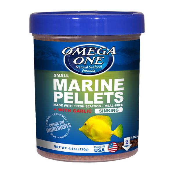 Omega One Garlic Marine Pellets, Sinking Small
