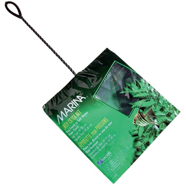 "Hagen Marina 5"" Black Coarse Nylon Fish Net w/16"" Handle"