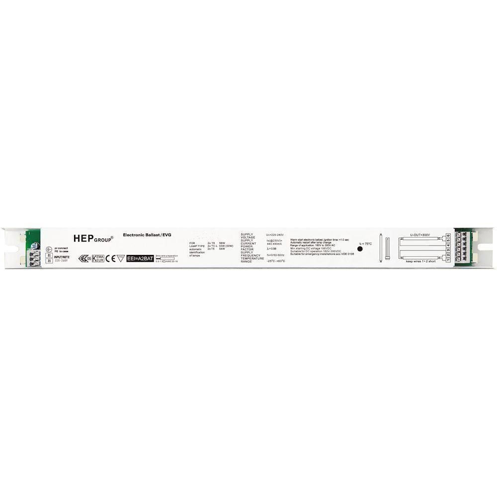HEP 2x54W T5 High-Output Ballast