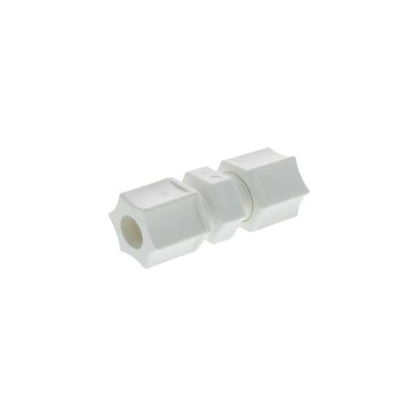 """JACO Reducing Union Connector - 1/4"""" Tube O.D. Female x 3/8"""" Tube O.D. Female"""
