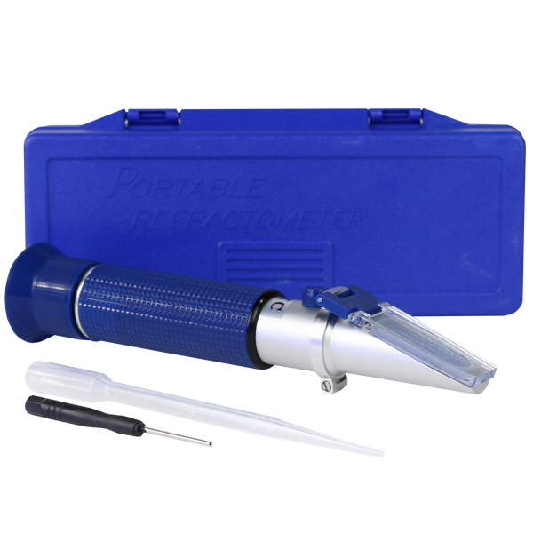 Deluxe Salinity Refractometer with ATC by AquaCave]
