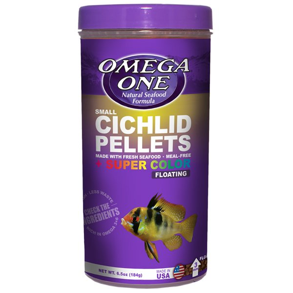 Omega One Small Cichlid Pellets by Omega One]