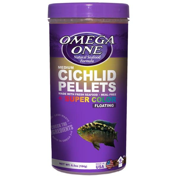 Omega One Medium Cichlid Pellets by Omega One]