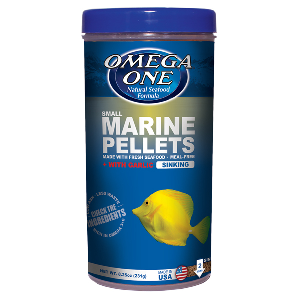 Omega One Garlic Marine Pellets, Sinking Small by Omega One]