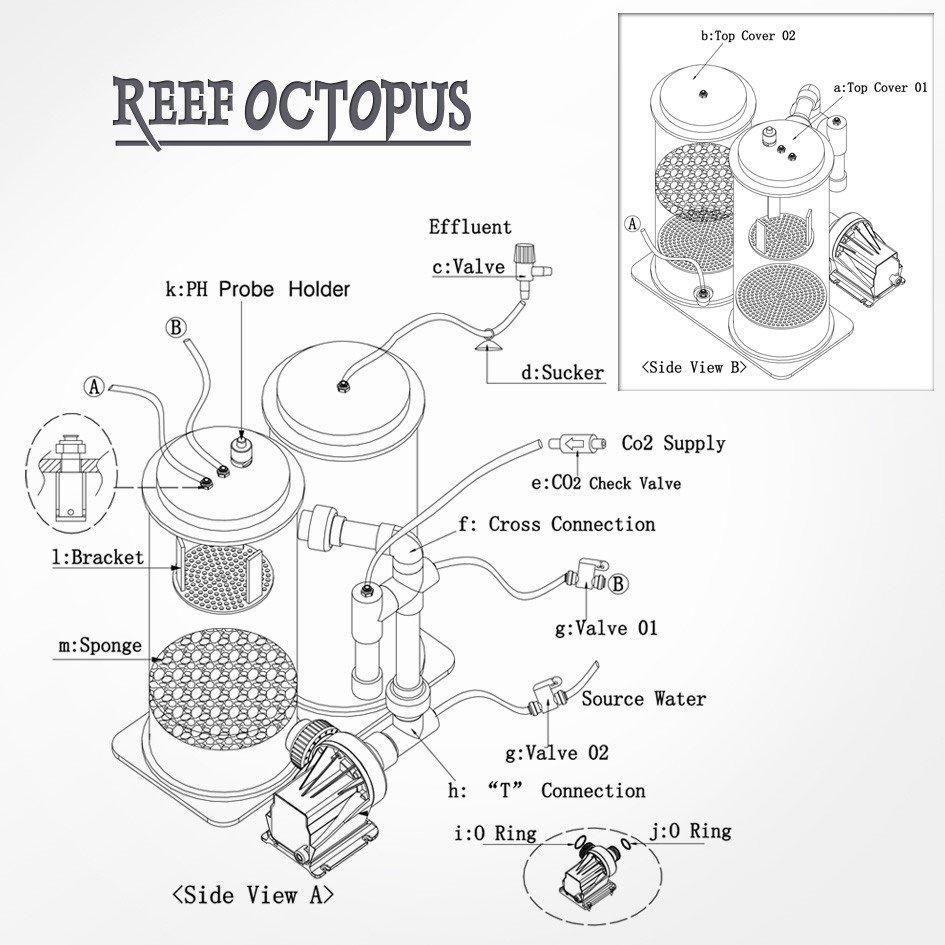 Reef Octopus SRO 5000-D Calcium Reactor by Reef Octopus]