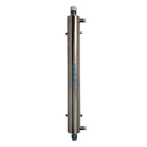 Aqua UV Stainless Steel 40 watt UV Sterilizer with Wiper, 2