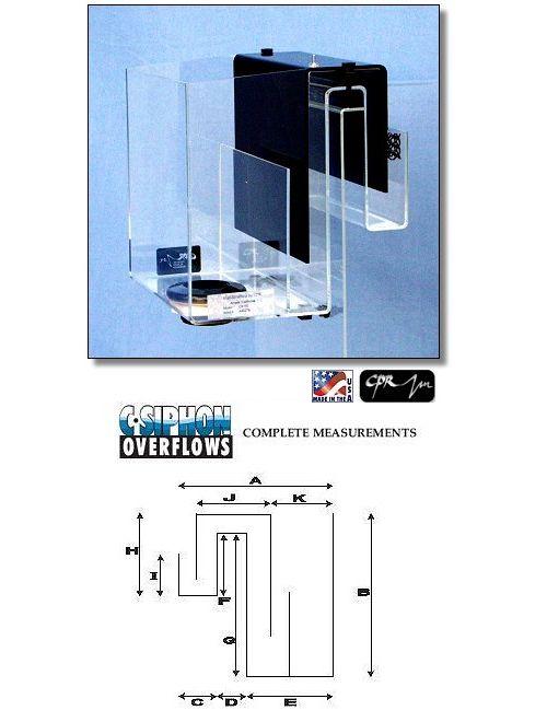 CPR CS150 Aquarium Overflow Box by CPR]