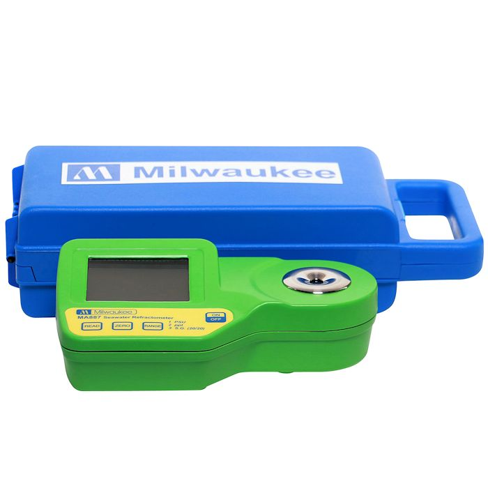 Milwaukee MA887 Digital Saltwater Refractometer with Case by Milwaukee Instruments]