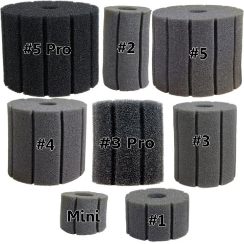 Replacement Sponges for Hydro Sponge Filters by Aquarium Technology]