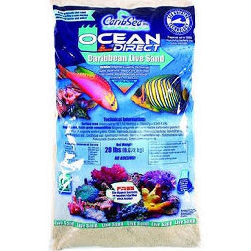 CaribSea Ocean Direct - Original Grade Live Sand, 20 lb. by CaribSea]