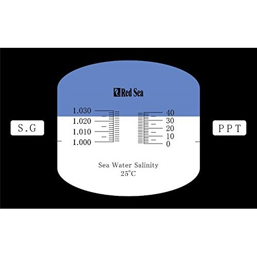 Red Sea Seawater Refractometer, High Accuracy by Red Sea]