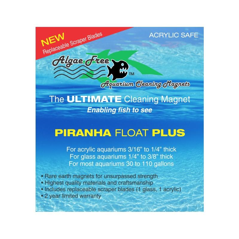 AlgaeFree Piranha Float Plus Magnet Algae Cleaner by AlgaeFree]