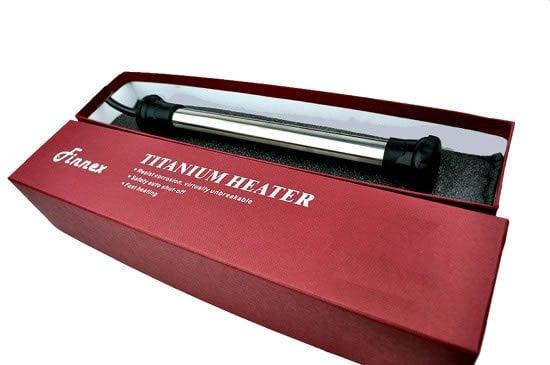 Finnex THS-300 Watts Titanium Heating Element with Guard by Finnex]